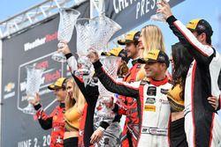 #93 Michael Shank Racing with Curb-Agajanian Acura NSX, GTD: Lawson Aschenbach, Justin Marks, #86 Mi