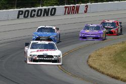 Landon Cassill, StarCom Racing, Chevrolet Camaro TW Cable, LLC and Kyle Busch, Joe Gibbs Racing, Toyota Camry Comcast Salute to Service Juniper