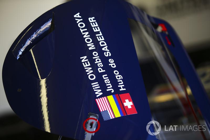 #32 United Autosports Ligier JSP217 Gibson: Huge de Sadeleer, Will Owen, Juan Pablo Montoya