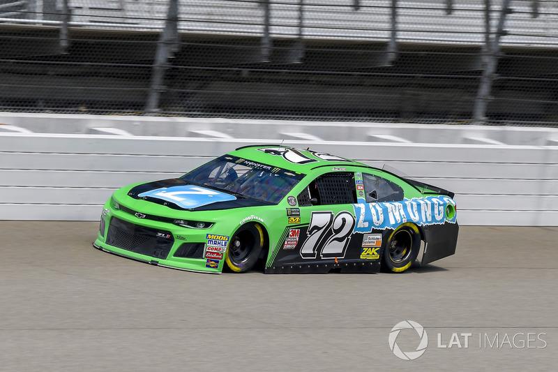 32. Corey LaJoie, TriStar Motorsports, Chevrolet Camaro Zomongo