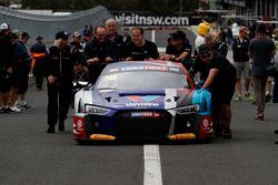 Кристофер Мис, Кристофер Хаасе, Маркус Винкельхок, Audi Sport Customer Racing, Audi R8 LMS (№74)