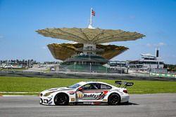 #91 FIST-Team AAI BMW M6 GT3: Jun San Chen, Jesse Krohn, Markus Palttala