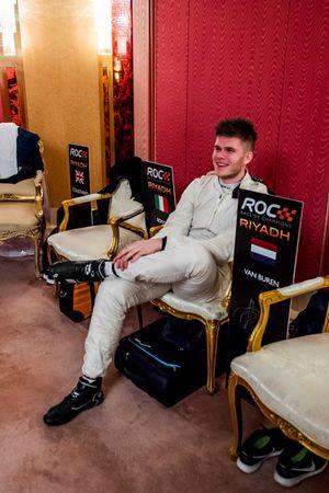 Rudy Van Buren nel backstage