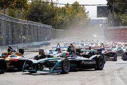 Jean-Eric Vergne, Techeetah Nelson Piquet Jr., Jaguar Racing, Andre Lotterer, Techeetah, Sébastien B
