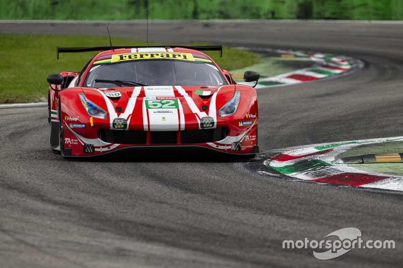 Ferrari Monza test