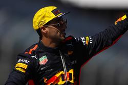 Daniel Ricciardo, Red Bull Racing,pilotlar geçit töreninde