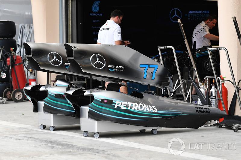Mercedes-AMG F1 W09 EQ Power carrocería