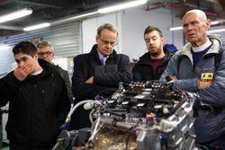 PSA fabrikası motor atölyesi