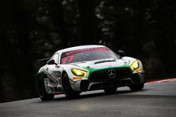#77 Fox Motorsport Mercedes-AMG GT4: Mark Murfitt, Michael Broadhurst