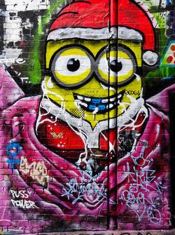 Melbourne sokak sanatı