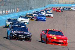 Justin Allgaier, JR Motorsports, Chevrolet; Erik Jones, Joe Gibbs Racing, Toyota