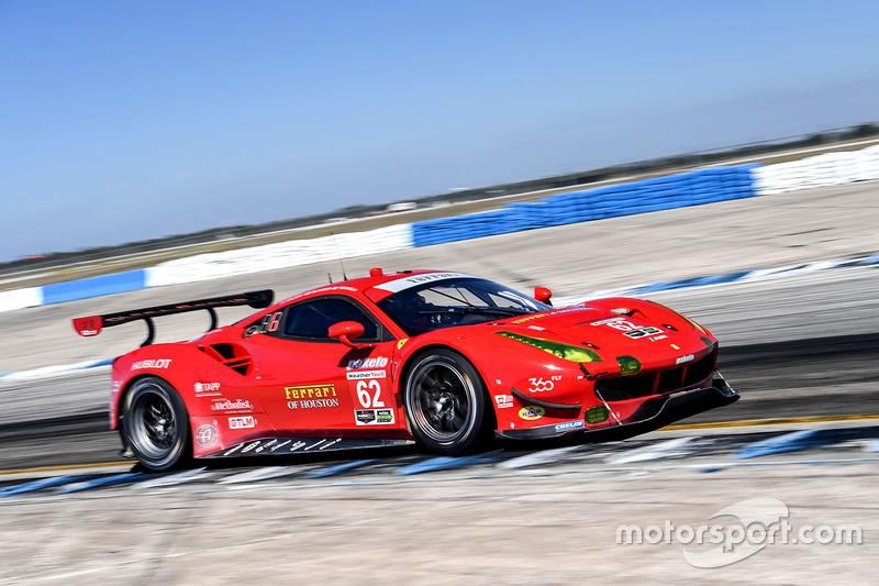 10. GTLM: #62 Risi Competizione, Ferrari 488 GTE