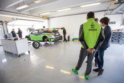 Daniel Nagy nel box Zengo Motorsport