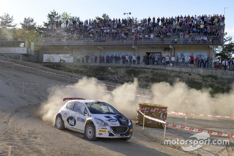 Kalle Rovanpera, Risto Pietilainen, Peugeot 208T16 R5