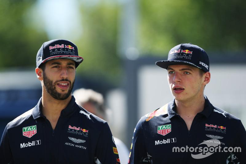 <p> Red Bull Racing </p> <p> Media de edad: 24 años </p><p> Suma de edad: 48 años </p>