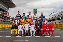 La photo de classe du GP3 Series 2017
