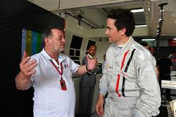 Paul Stoddart, F1 Experiences 2-Seater passenger Thomas Senecal, Journalist and Presenter for Canal