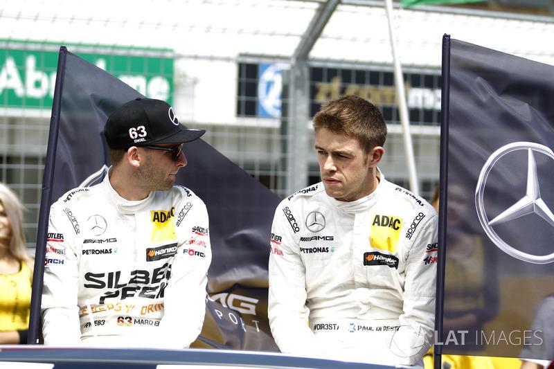 Маро Енгель, Mercedes-AMG Team HWA, Mercedes-AMG C63 DTM, Пол ді Реста, Mercedes-AMG Team HWA, Mercedes-AMG C63 DTM