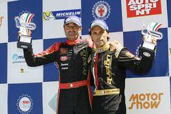 Podio Gara 1: Ivan Bellarosa, Avelon Formula; Guglielmo Belotti, Avelon Formula