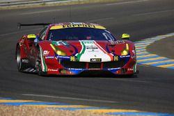 #71 AF Corse Ferrari 488 GTE : Davide Rigon, Sam Bird, Miguel Molina