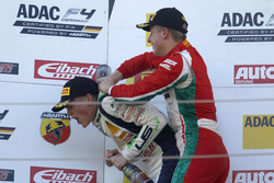 Podium: Juri Vips, Prema Powerteam und Nicklas Nielsen, US Racing