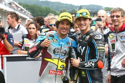 Winnaar Franco Morbidelli, Marc VDS, derde Francesco Bagnaia, Sky Racing Team VR46