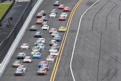 Brennan Poole, Chip Ganassi Racing Chevrolet, Ty Dillon, Richard Childress Racing Chevrolet, Tyler R