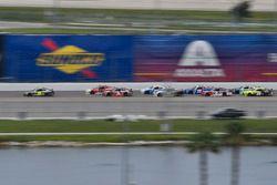 William Byron, JR Motorsports Chevrolet, Michael Annett, JR Motorsports Chevrolet, Ty Dillon, Richar