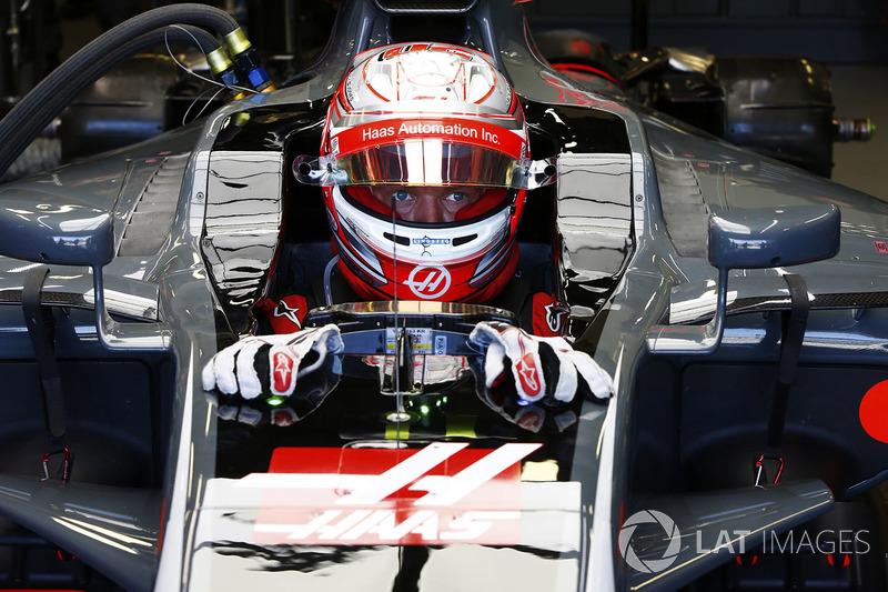 7e : Kevin Magnussen (Haas F1 Team)
