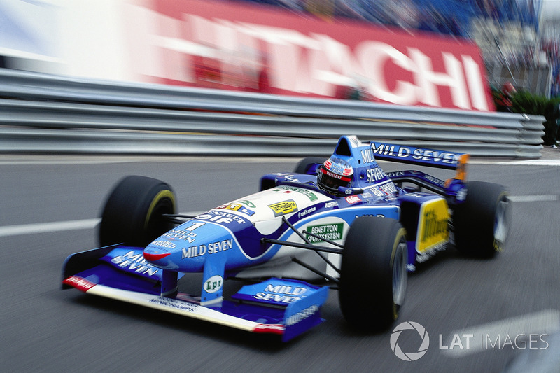 1995 Michael Schumacher, Benetton