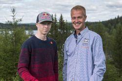 Kalle Rovanperä et son père, Harri Rovanperä