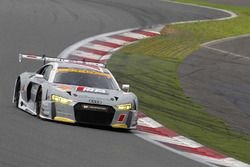 #21 Audi Team Hitotsuyama Audi R8 LMS: Richard Lyon, Masataka Yanagida