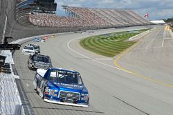 Austin Cindric, Brad Keselowski Racing Ford, Noah Gragson, Kyle Busch Motorsports Toyota