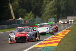 #6 Belgian Audi Club Team WRT Audi R8 LMS: Nanaël Berthon, Stéphane Richelmi, Benoît Treluyer