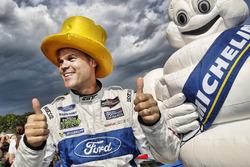 GTLM podium: winner Dirk Müller, Chip Ganassi Racing Ford