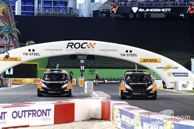 Фелипе Масса и Петтер Сольберг, RX Supercar Lite