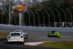 #21 Muehlner Motorsports America Porsche Cayman GT4: Kyle Marcelli, Cameron Lawrence