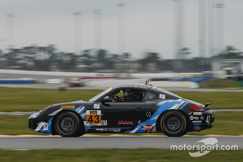 #43 Murillo Racing, Porsche Cayman: Christian Szymczak, Christopher Stone