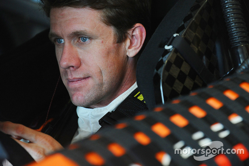 Carl Edwards (Gibbs-Toyota): Vierter mit Crash im Rennen