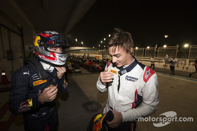 Pierre Gasly, PREMA Racing & Artem Markelov, RUSSIAN TIME