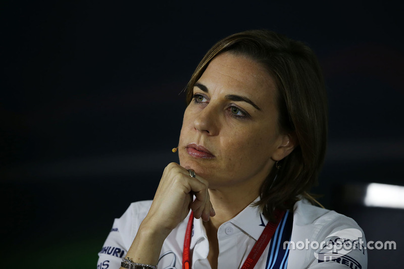 Claire Williams, Deputy Team Principal Williams F1