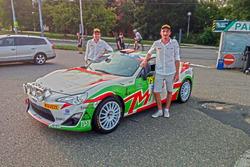 Riccardo Canzian e Matteo Nobili, Toyota GT86 CS-R3