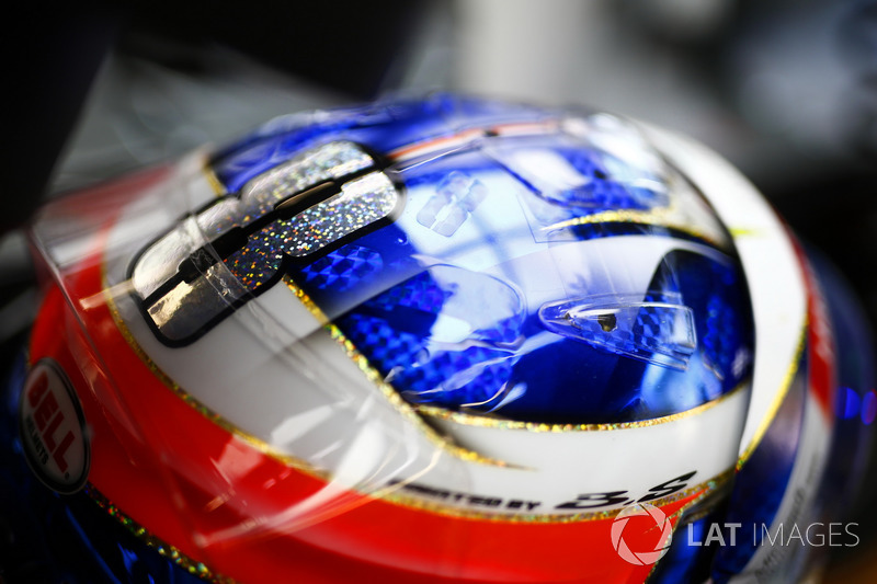 Romain Grosjean'ın kaskı, Haas F1 Team VF-17