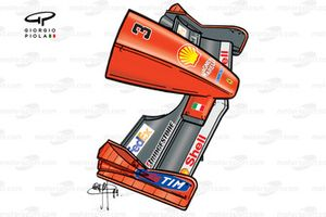 Ferrari F399 front wing