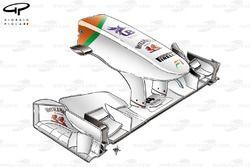 Force India VJM04 nose, standard design