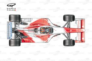 Toyota TF103 2003 top view
