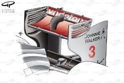 McLaren MP4/26 rear wing