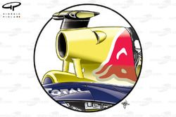 Red Bull RB6 F-ducts inlets