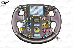 Volant de la Ferrari F2003-GA