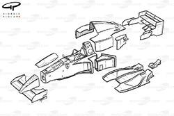 Vue explosée de la Ferrari 412T2 (647)